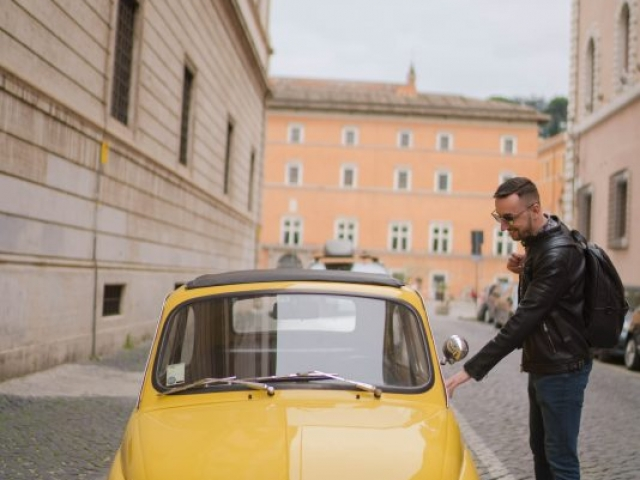 fotenie v Ríme, photoshoot in Rome, man portrait